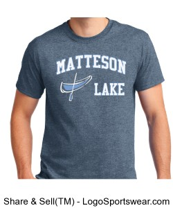 Matteson Lake Grey Canoe Design Zoom