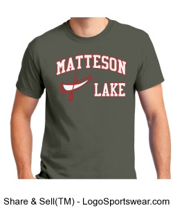 Matteson Lake Canoe OD Green Design Zoom